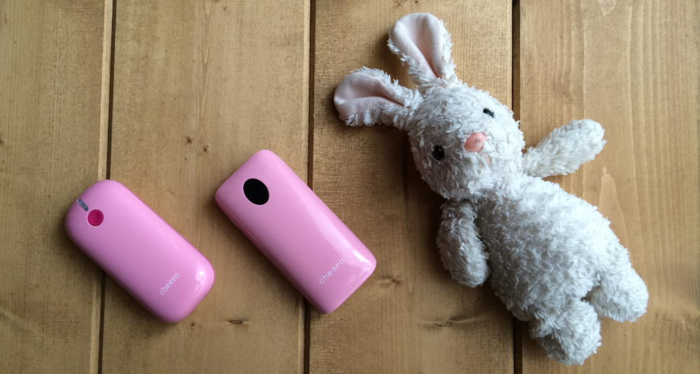 携帯用バッテリーcheero Grip2を買って旧Gripと比較してみた