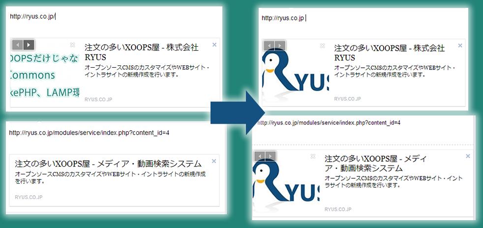 XOOPS Cube FacebookのOGPを指定する!