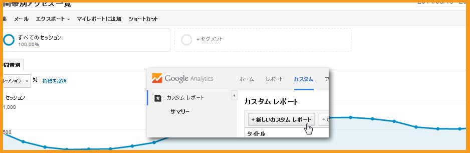 GoogleAnalytics(アナリティクス)を時間帯別で見る