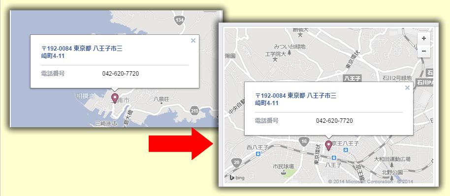 Facebookページで住所から地図が上手く表示できなかった問題を解決