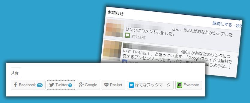 blog記事でFacebookのボタンの横に出ている数字ってなんだろう?