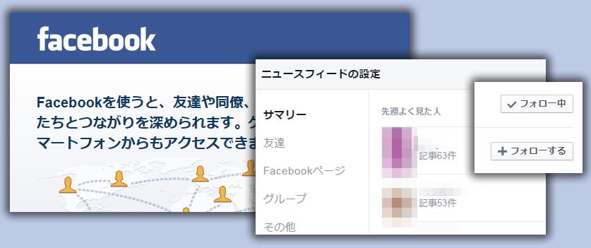 自分のタイムラインに表示されるFacebookページをコントロールする