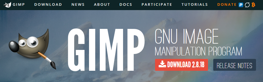 無料の画像編集ソフトGIMPは有料ソフトと遜色のない高機能 第1回インストールと画像の読み込み&縮小